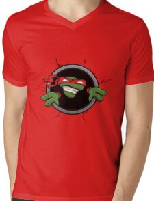 Heroes in a half shell! Mens V-Neck T-Shirt