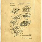 Lego Patent by Edward Fielding