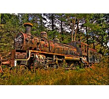 Just Call Me Rusty - Zig Zag Railway, Lithgow NSW Australia - The HDR Experience Photographic Print