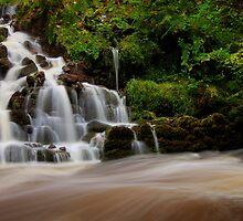 Waterfall at Reelig by Macrae images