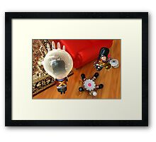 Tin Toy Marching Band Framed Print