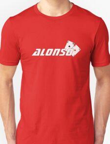 Fernando Alonso (ferrari colours) Unisex T-Shirt
