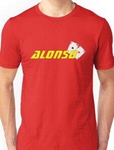 Fernando Alonso (Spanish colours) Unisex T-Shirt