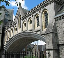 Arch at Christ Church Cathedral Dublin by Ren Provo