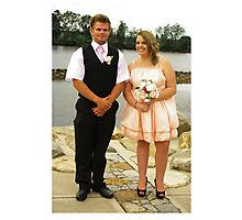 bridesmaid and groomsmen Photographic Print