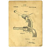 Toy Pistol Circa 1920s Photographic Print