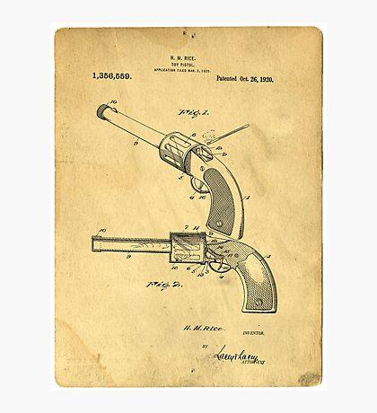 Toy Pistol Circa 1920s Photographic Print