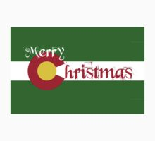Merry Colorado Christmas One Piece - Short Sleeve