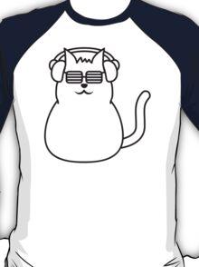 Cool Fat Cat DJ T-Shirt