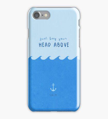 swim. iPhone Case/Skin