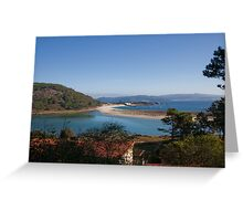 Archipelago Isla Cies in the Atlantic Ocean Greeting Card