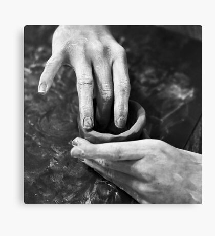 Hands of the Maker Canvas Print