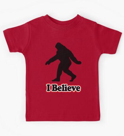Sasquatch Big Foot T-Shirt Kids Tee