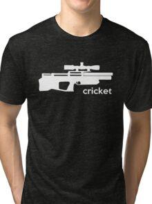 Kalibrgun Cricket Airgun T-shirt Tri-blend T-Shirt