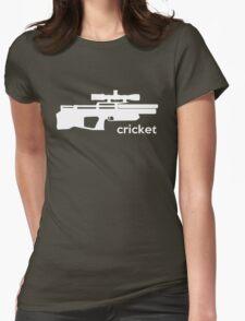 Kalibrgun Cricket Airgun T-shirt Womens Fitted T-Shirt