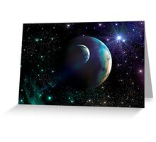 Fantasy Sky Greeting Card