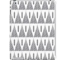 Winter Trees - White and Grey by Andrea Lauren  iPad Case/Skin