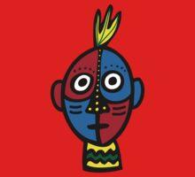 Tribal Face Kids Tee