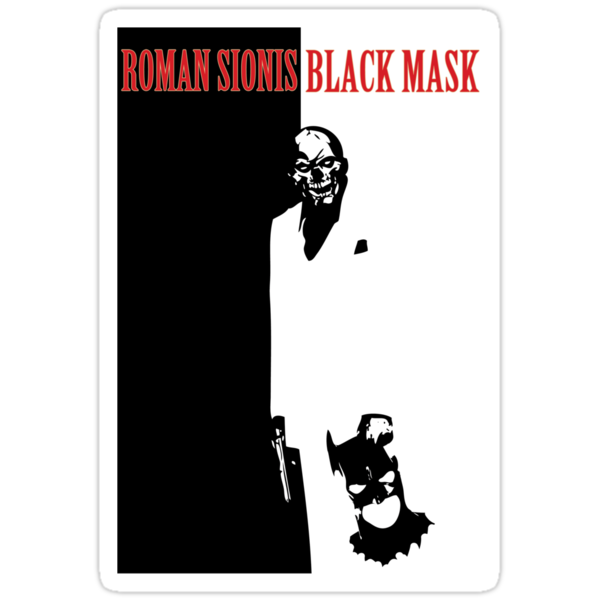 Roman Sionis is Black Mask  by FireProFitz