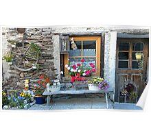 An Austrian Cottage. Poster