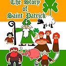 Story of Saint Patrick T - Shirt 002 by Paul Woods