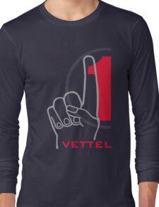 Vettel 1 Long Sleeve T-Shirt