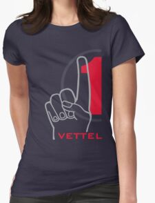 Vettel 1 Womens Fitted T-Shirt