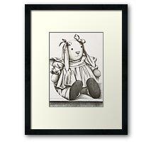 Bunny Rabbit Framed Print