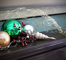 Christmas Mantle by Rosemary Sobiera