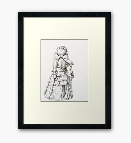 Corn Doll  Framed Print