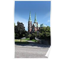 Gothic cathedral Poster