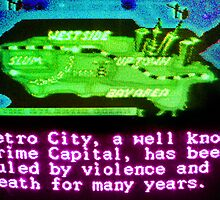 A Well Known Crime Capital by vgjunk