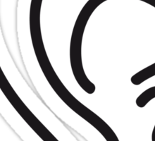 Auricle Ear Form Design Sticker