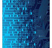 Blue Circuits by Akuma91