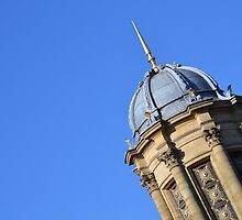 The top of the church in Saltaire by wittieb