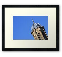 The top of the church in Saltaire Framed Print