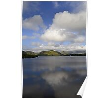 Lake District in the morning Poster