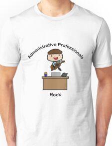 Administrative Professionals Rock (Male) T-Shirt