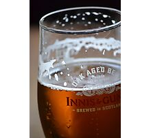 Innis and Gunn beer, Scotland Photographic Print