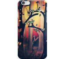 The Woods at Sunset iPhone Case/Skin