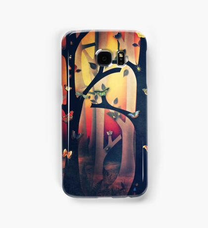 The Woods at Sunset Samsung Galaxy Case/Skin