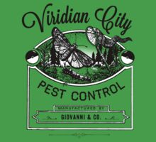 Viridian City Pest Control T-Shirt