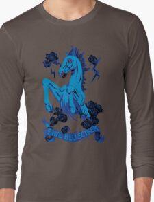 Save Bluecifer Black Rose Long Sleeve T-Shirt