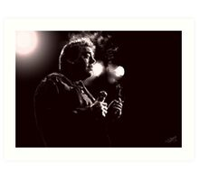 Bill Hicks Digital Painting Art Print
