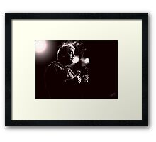 Bill Hicks Digital Painting Framed Print