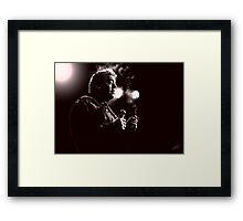 Bill Hicks Digital Painting Framed Print