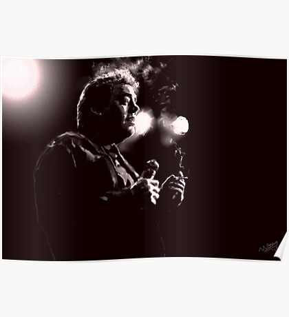Bill Hicks Digital Painting Poster