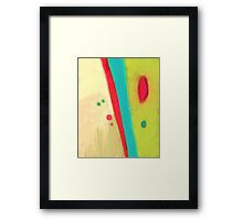 Meet me Framed Print