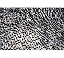 Labyrinth Photographic Print