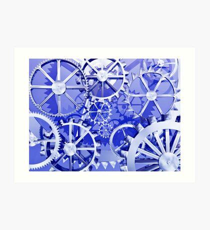 Clockwork steampunk Art Print